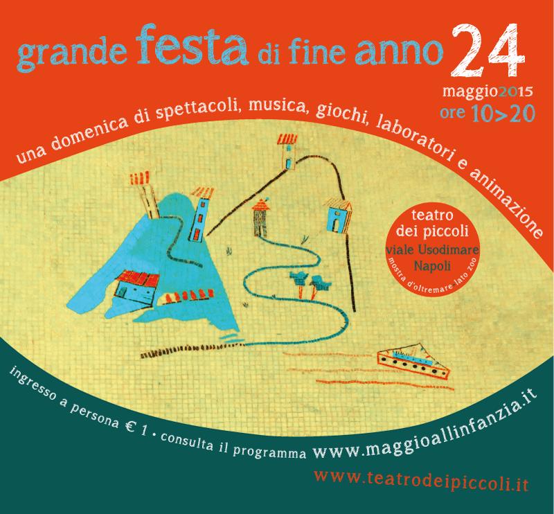 GRANDE FESTA DI FINE ANNO per il Maggio all'infanzia_edizione Campania @ Teatro dei Piccoli