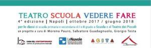 Teatro Scuola Vedere Fare scadenza invio moduli di iscrizione @ Teatro dei Piccoli