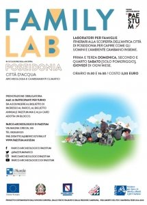 Paestum Family Lab Poseidon @ Parco e Museo Archeologico di Paestum