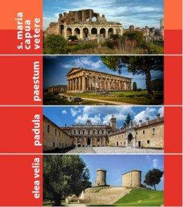 Nuove esperienze di visita nei siti archeologici @ Paestum, Parco Archeologico - Santa Maria Capua Vetere, Circuito Archeologico - Padula, Certosa di San Lorenzo